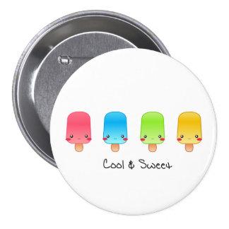Refrigere o grande botão dos deleites botons