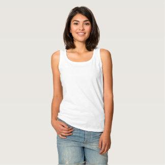 Regata A camisola de alças básica das mulheres