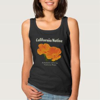 """Regata Basic De """"papoila de Califórnia retro"""" do vintage nativo"""