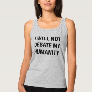 Regata Basic Nenhum debate. (Cinza)