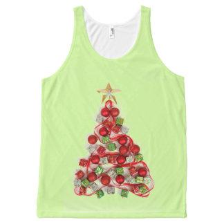 Regata Com Estampa Completa Árvore de Natal