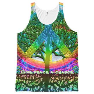 Regata Com Estampa Completa Árvore feita sob encomenda das citações da camisa