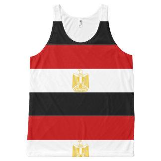 Regata Com Estampa Completa Bandeira clássica de Egipto