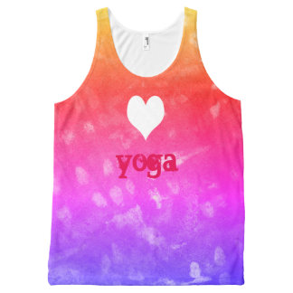 Regata Com Estampa Completa ioga do amor