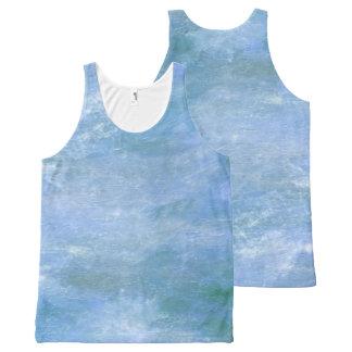 Regata Com Estampa Completa Monet azul
