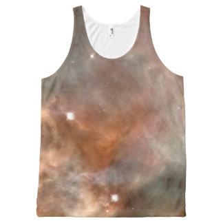 Regata Com Estampa Completa NASA do olhar do mármore da nebulosa de Carina