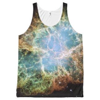 Regata Com Estampa Completa NASA do Supernova da nebulosa de caranguejo
