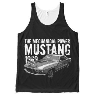 Regata Com Estampa Completa Poder mecânico do mustang