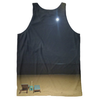 Regata Com Estampa Completa praia enluarada