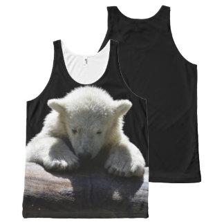 Regata Com Estampa Completa Urso Cub polar