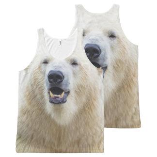 Regata Com Estampa Completa Urso polar bonito