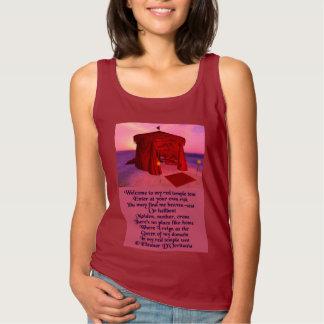 Regata Da poesia vermelha da barraca do templo das