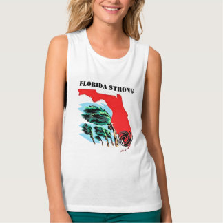 Regata Muscle Flowy Furacão Irma Florida forte