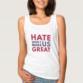 Regata O ódio não fará o excelente dos E.U.