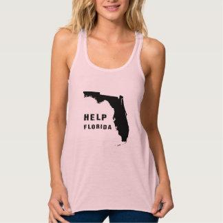 Regata Racerback Flowy Ajuda Florida após o furacão Irma