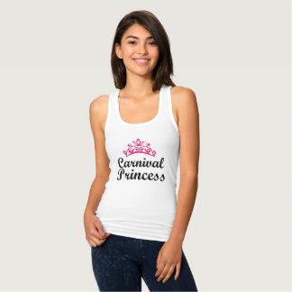 Regata Racerback Jersey Princesa do cruzeiro do carnaval