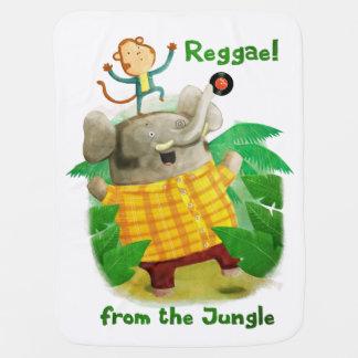 Reggae da selva manta de bebe