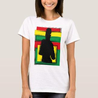 Reggae ferida arte tshirt