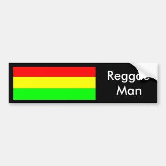 Reggae, homem adesivo para carro