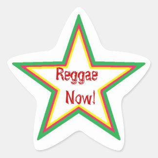Reggae now adesivo