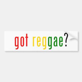 reggae obtida? adesivo para carro