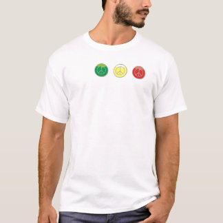 Reggae Sinais Camisetas
