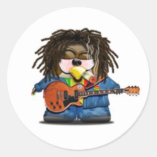 Reggae Tux do balancim de Rasta Adesivo