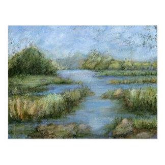 Região pantanosa mim cartão postal