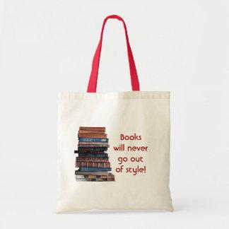 Registre a Saco-Pilha de livros velhos/com dizer Bolsas
