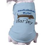 Regra dos Dachshunds Camisas Para Cães