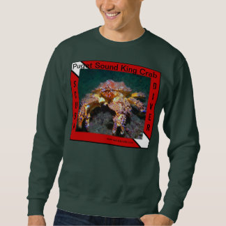 Rei caranguejo de Puget Sound - camisas
