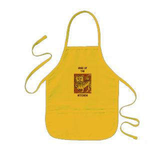 Rei Cozinha Avental Infantil