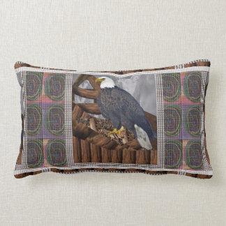 Rei de EAGLE do pássaro do habitat de Almofada Lombar