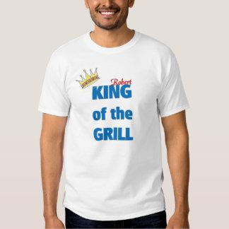 Rei de Robert da grade Tshirts