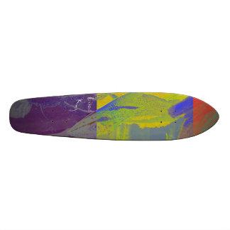 Rei do lagarto shape de skate 20cm