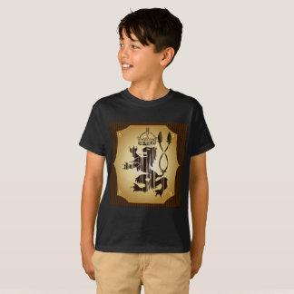 Rei do leão do menino do t-shirt do Hanes TAGLESS®