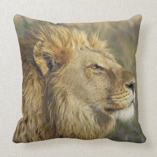 Rei do travesseiro da selva almofada