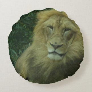 Rei então da selva almofada redonda