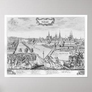 Rei Frederick II de Prússia Poster
