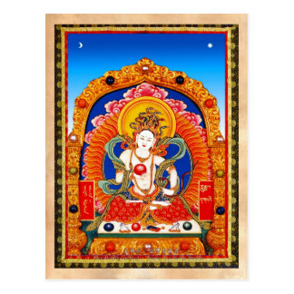 Rei tibetano legal Bodhisattva do dragão do Cartão Postal