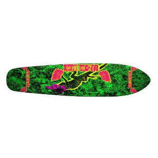 Rei velha escola do lagarto shape de skate 20,6cm