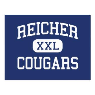 Reicher - pumas - católico - Waco Texas Cartão Postal