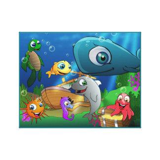Reino animal bonito - mar
