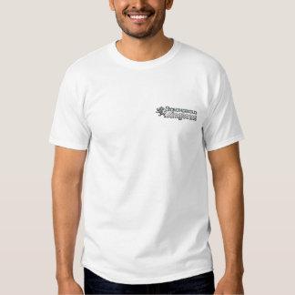 Reinos da fortaleza - logotipo - branco t-shirts
