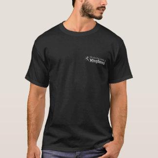 Reinos da fortaleza - logotipo - preto t-shirt