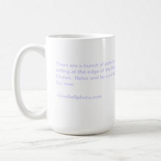Relaxe & aprecie caneca de café