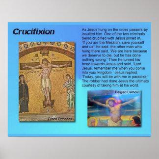Religião, cristandade, Jesus, crucificação Posteres