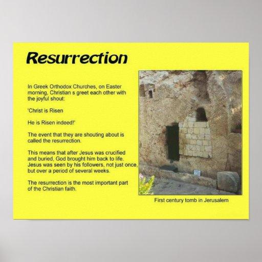 Religião, cristandade, páscoa, ressurreição impressão
