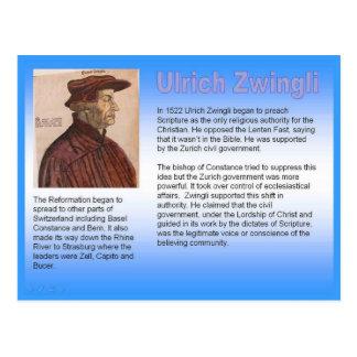 Religião, cristandade, Ulrich Zwingli Cartão Postal