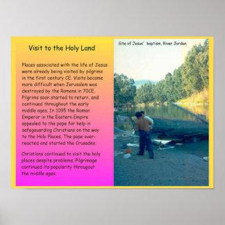 Religião, cristandade, visitando a Terra Santa Poster